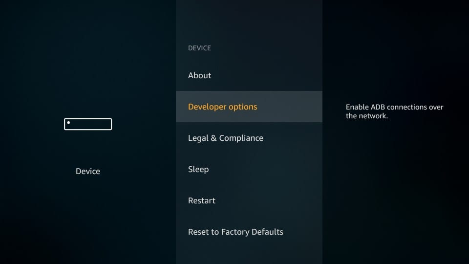 FireStick-DeveloperOptions